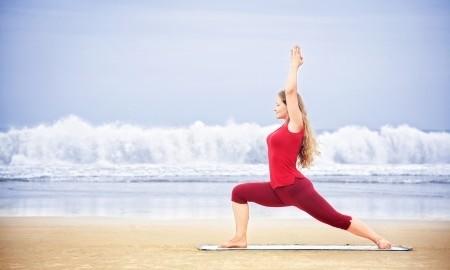 Doing yoga before trading